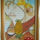 Polynesia Painting Cubist Tropics Ambrosia Polynesian Large Vintage Original Oil