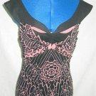 NOS Vivienne Tam Top Off Shoulder Portrait Collar Bustier Blouse Camisole Sexy 2