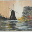 Massachusetts Painting Vintage 70s Phillips South Hadley New England Amherst