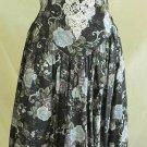 Fit and Flare Bustier Dress Crinoline Vtg 70s NOS Scott McClintock Crinoline