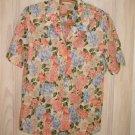 NOS Brooks Brothers Shirt Print Flowers Preppy Floral Cargo Camp Short  12