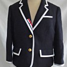 Thom Brown for Neiman Marcus Blazer Trophy Preppy Jacket NOS Deadstock Women L