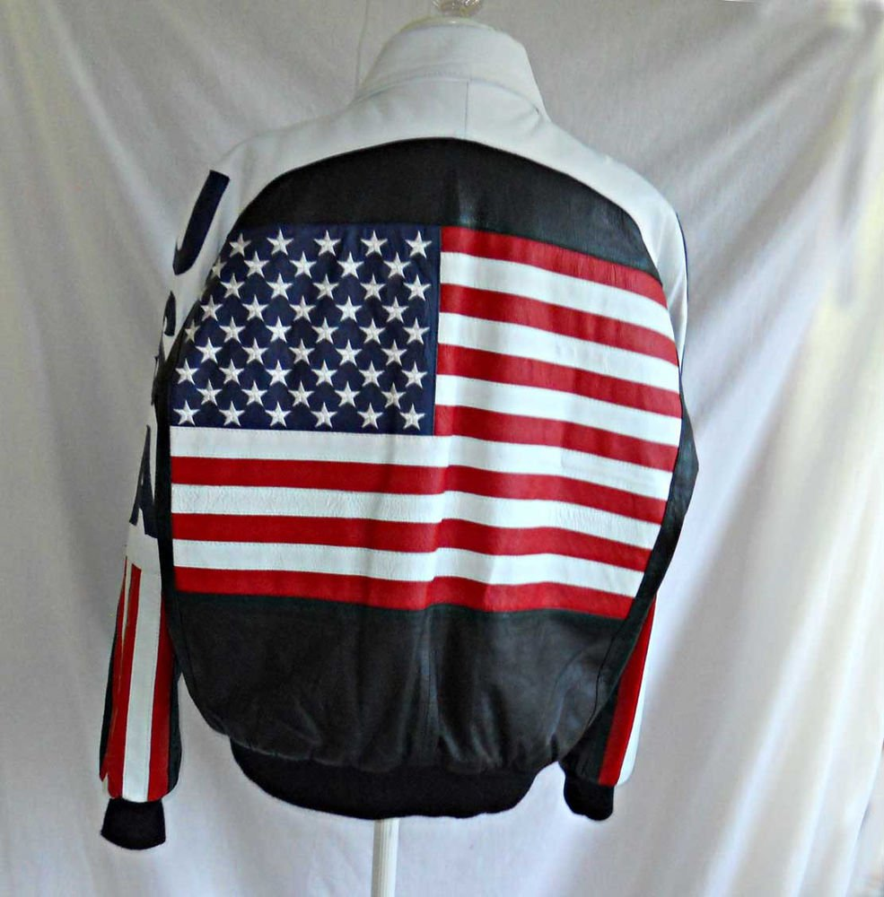Michael Hoban Wheremi USA Leather Jacket Deadstock NOS Vintage 90s Biker XL