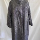 Tracy Reese Coat New old Stock with Tags Metallic Swing 50s Inspired Retro  M