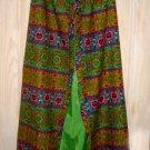 Hawaiian Print Skirt NOS Vintage 60s Sarong Maxi Krist GUDNASON Hawaii Alice M