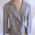 Nos Diane Von Furstenberg Blazer Jacket Bell Sleeve Schoolboy Sexy Cropped 10