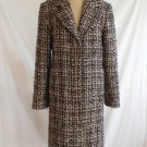 Mohair Coat Doncaster Nos Vintage 70s Soft Knit Tweed Oversize Mannish  Italy 4