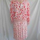 Diane Freis Vintage 80s Deadstock Mixed Print Skirt Blouse Festival Boho Knit
