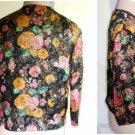 Vintage 50s Adelaars Trophy Jacket Metallic Floral Brocade Gold Deadstock 12