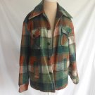 Jacket Vintage 60s Plaid Chore Hunting Barn Shirt Campus Heavy Lined  Tartan 38
