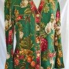 Vintage 60s Trophy Jacket Fruit Print Blazer Lipari Santa Margherita Ligure 14