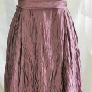 Vera Wang Bridesmaid Evening Dress Crinkle Bombshell Bustier Crinoline NOS
