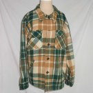 Jacket 40s LL Bean Vintage Antique Hunting Plaid Tartan Heavy Chore Wool NOS XL