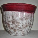 Vintage Mid Century West Germany Mid Century Modern Pot Pottery Ceramic Speckled