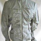 Parka Hunting Jacket Biker NOS Nicole Miller Military Metallic Sci Fi Moto  4