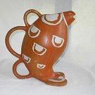 Stoneware Vintage Water Pitcher Prehistoric Animal Japan Samburu Safari Sigma