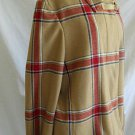 Tommy Hilfiger Jacket Car Coat Plaid Tartan Swing NOS Vintage Deadstock Wool XL