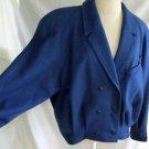 Anastasia Paris Coat Jacket Bomber Military Eisenhower Dolman Oversize Deadstock