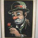 Emmett Kelly Clown Vintage ORIGINAL Painting Numbers Velvet Circus Performer
