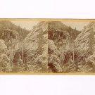 Stereoview Savage Ottinger Salt Lake City Utah Grand Gorges in Cottonwood