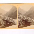 Stereoview Wheeler Expedition 1871 136 No4 O'Sullivan Photo Sketch Artist Grotto