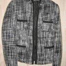 Trophy Jacket Yumi Mazao Vintage Tweed Blazer Boxy Tribute Flowy Drapey 38 NOS