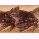 Stereoview Hart CPRR California 228 Truckee River Eastern Summits Tunnel 14 134M