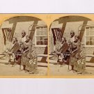 Stereoview Wheeler Expedition 1873 #28 O'Sullivan Navajo Indian Fort Defiance NM