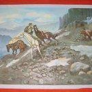 Folk Western Cowboy Hunter Bear Painting Russell A Dangerous Cripple A Robert