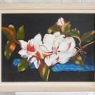 Original Painting Modern Magnolia Flowers Still Life Southern Dixie D Babb