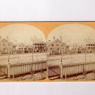 Stereoview CR Savage Salt Lake City Utah President B Young Residence Office