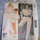 Vintage 80s Brooke Shields Romper Long and Short Jumpsuit Pattern 8926 Miss L
