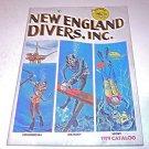 Vintage New England Divers Catalog 1979 Commercial Military Sport Dealer Price