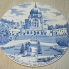 Staffordshire Plate Montreal Oratory Mont Royal 10 inch Vintage Saint Joseph