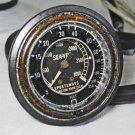 SPG Sea Vue Sportsways Pressure Depth Gauge 3000psi Capillary Vintage HP Hose