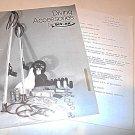Vintage 1979 DIV-AK Scuba Dive Accessorie Catalog Speargun Tool Dealer Price