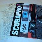 Vintage Scubapro 1982 Catalog Regulator Mask Spear Gun Knife w Dealer Price 52p