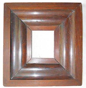 Antique OG Rosewood Frame Daguerreotype Victorian 1/6 Plate Wide Deep Original