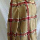 Tommy Hilfiger Jacket Car Coat Plaid Camel Swing NOS Vintage Deadstock Wool XL