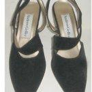Pumps Vintage 70s Deadstock Nos Andew Geller Velvet Bootie Slingback Shoes 6.5
