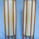 Pair Vintage Lanterns Lamps Interior Light Set Floor Vintage 50s Modern Atomic