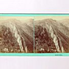 Stereoview CR Savage Utah UPRR Devil's Slide Union Pacific Railroad