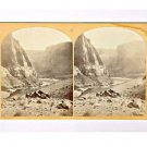 Stereoview Wheeler Expedition 1872 11 O'Sullivan Foreground Paria Colorado River