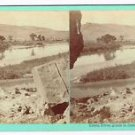 Stereoview Savage Utah UPRR Green River Grade Rail Road Photographer Foreground