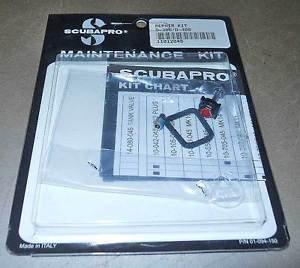 Scubapro Maintenance Service  Repair Kit D350,D400,D300,AIR1 New Sealed