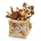 Harmony Kingdom Courtenay Toy Box Cat Treasure Jest V-2