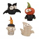 Halloween Character Lapel Pins Jewelry Department 56 Pumpkinseeds Set of 4