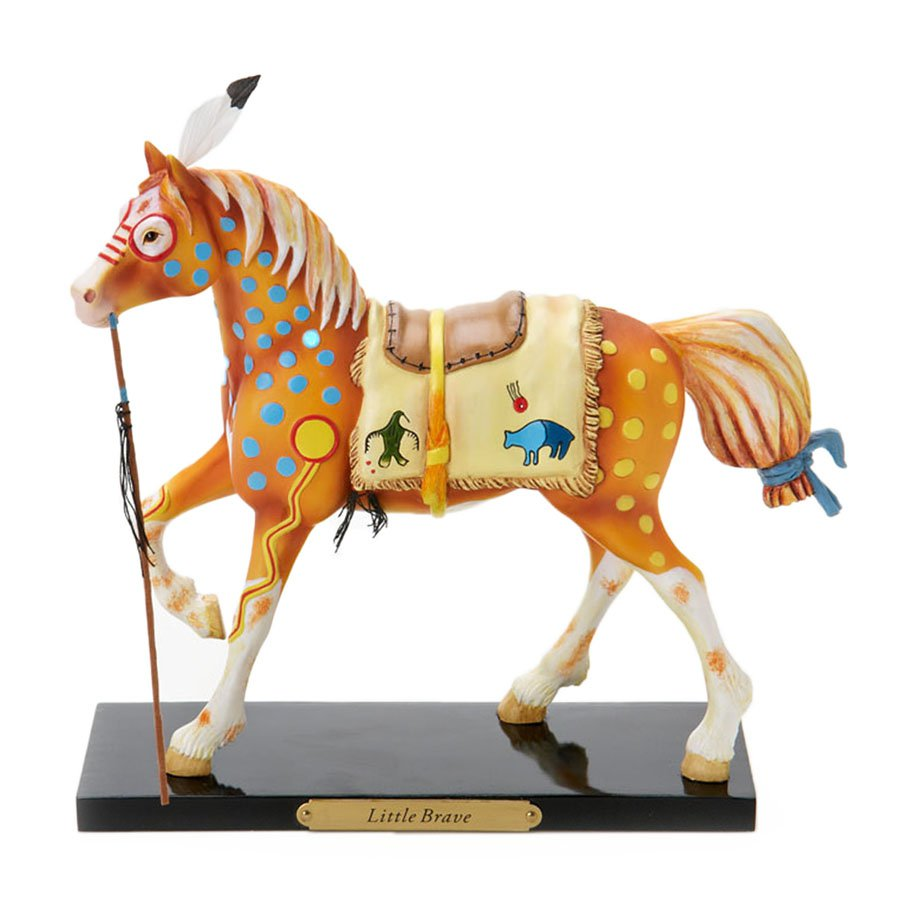 Trail of Painted Ponies Little Brave First Edition Indian Pony Figurine