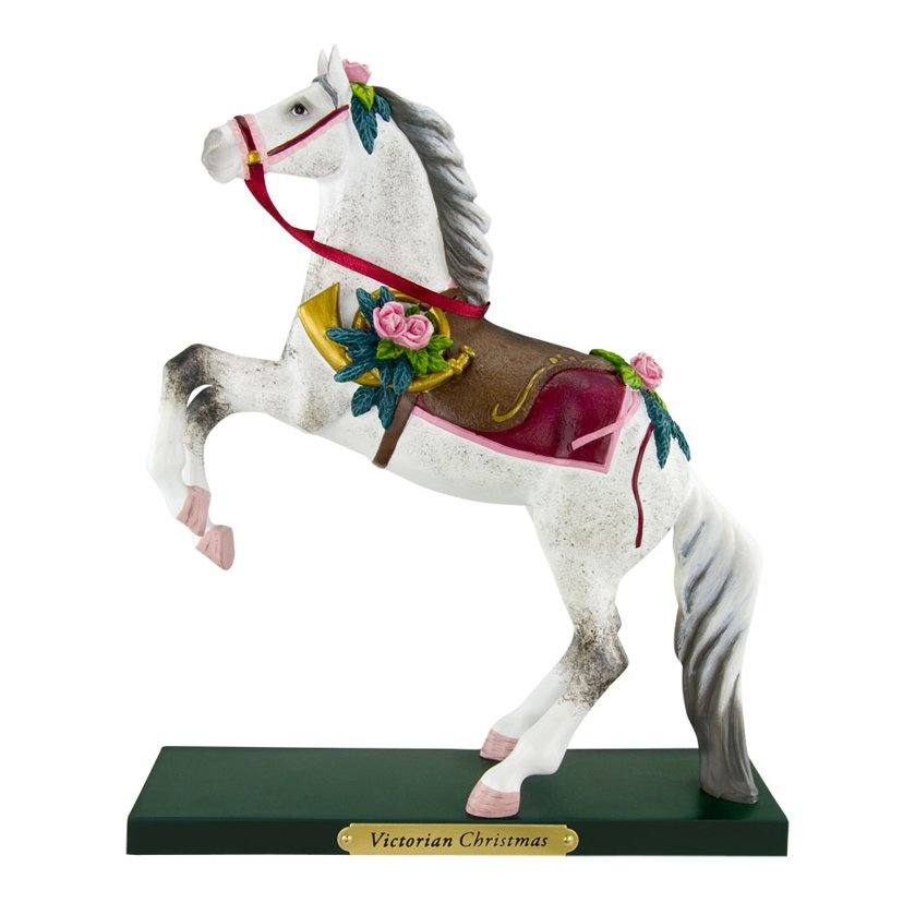 Trail of Painted Ponies Victorian Christmas Horse Figurine