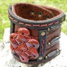 Handmade cuff wristband Men`s cuff Bracelets Rockstar  3 inch Indian Style